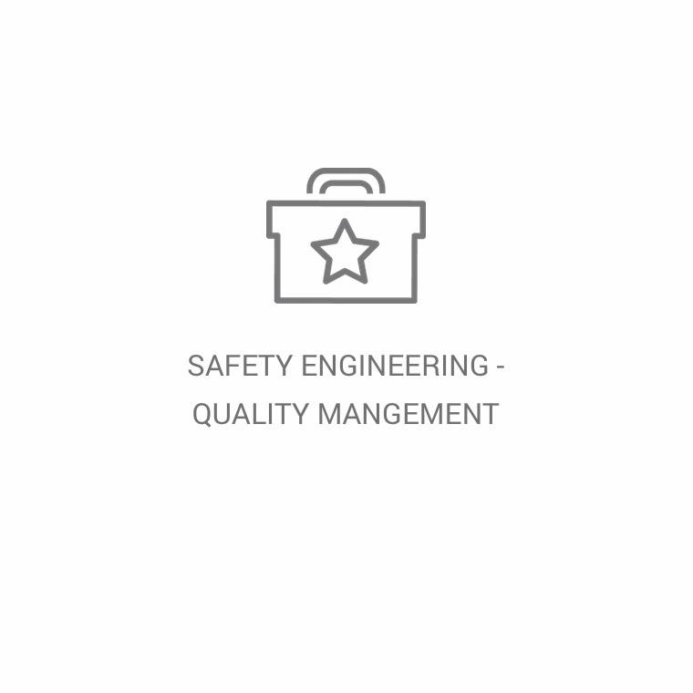 Safety Engineering / Quality Management